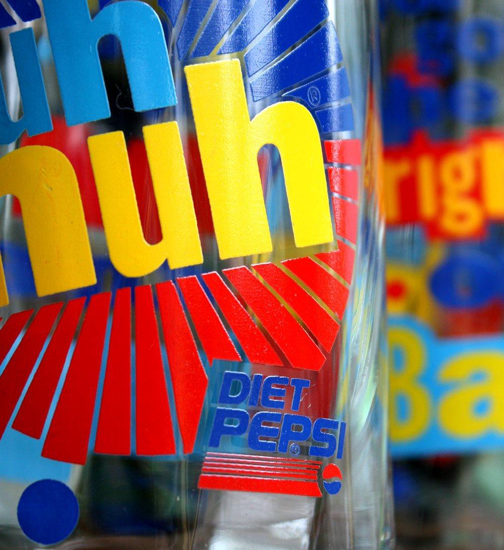 画像3: ◆Diet Pepsi【Deadstock】グラス2点セット