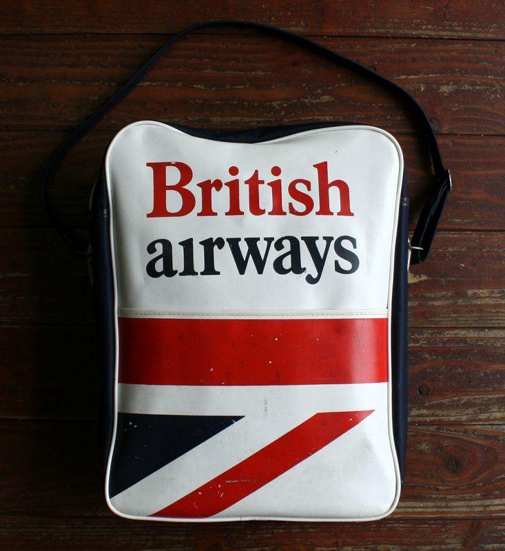 画像1: ◆70sヴィンテージ British airways エアラインバッグ