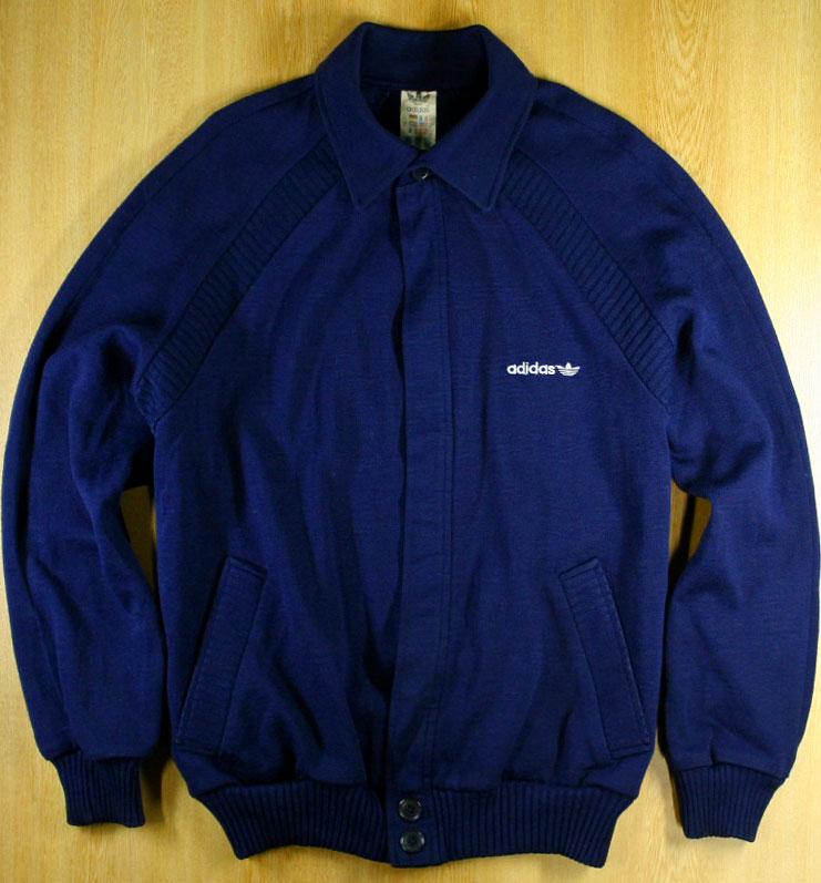 画像4:  ◆70sヴィンテージadidasジャケット【レアバックデザイン】