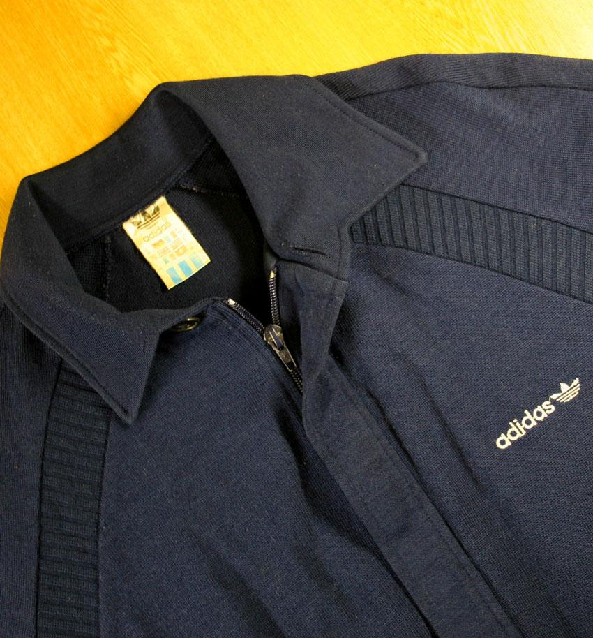画像2:  ◆70sヴィンテージadidasジャケット【レアバックデザイン】