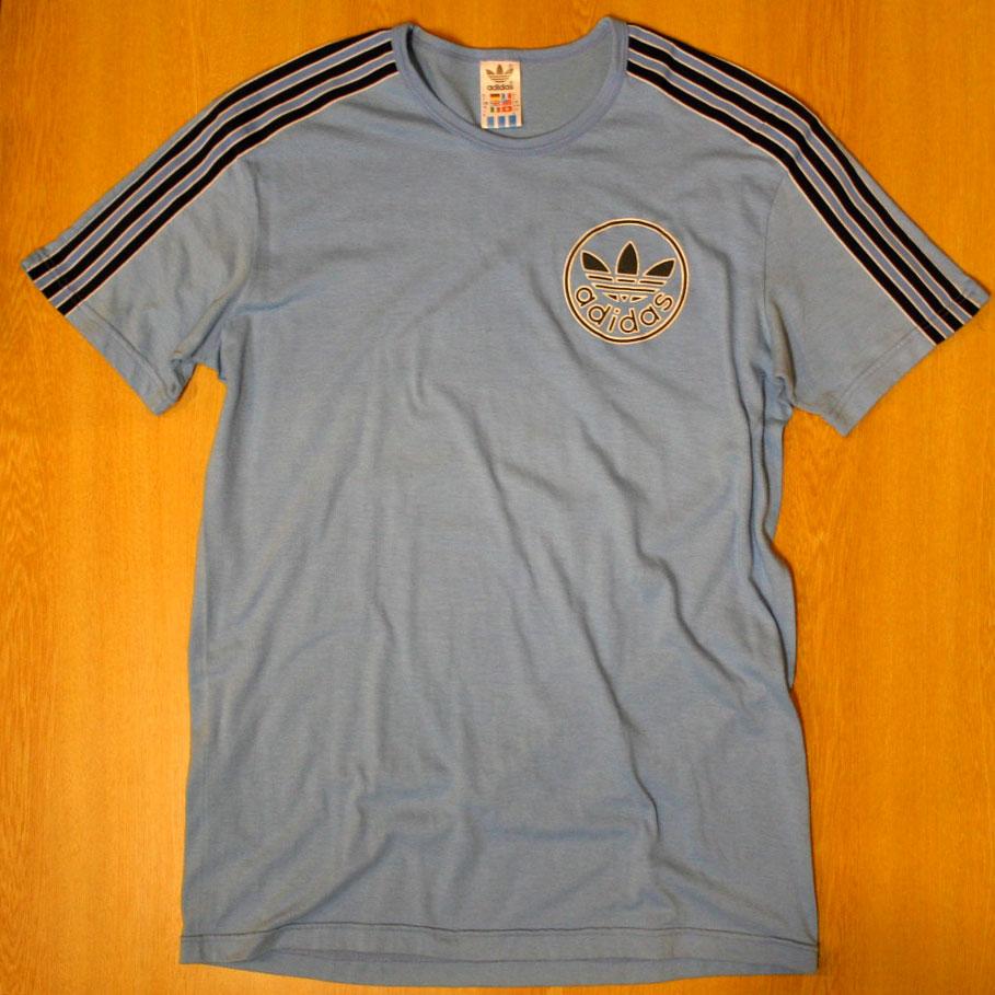 画像1: ◆70sヴィンテージadidasTシャツ【丸ロゴ】