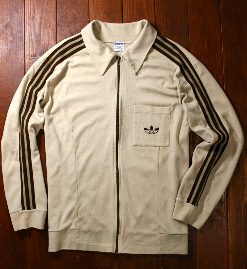 画像1:  ◆70sヴィンテージadidasニットジャケット