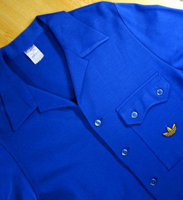 画像2:  ◆70sヴィンテージadidasニットジャケット【金ロゴ】